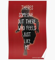 THERES SOMEONE OUT THERE Poster