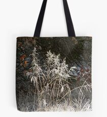 Frosty Foreground Tote Bag
