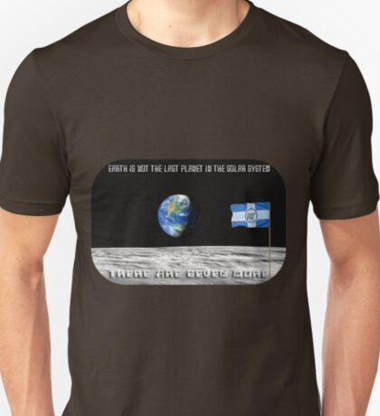 "FC ""Zenit"" - ФК ""Зенит"" - ""Earth is not the Last planet on the solar system"" T-Shirt"