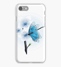 Joy Of Spring Case - Spring Blossom & Blue Butterfly iPhone Case/Skin