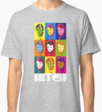 Christopher Hitchens - poster boy of atheism? (dark) Classic T-Shirt