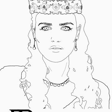 Morgana Stencil by carrieclarke