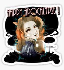 HAPPY APOCALYPSE 1  Sticker