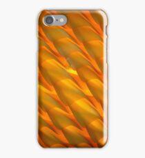 Orange Glass Light Shade iPhone Case/Skin