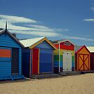 Brighton Beach, Victoria by kcy011