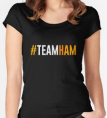 #TeamHam #2 Women's Fitted Scoop T-Shirt