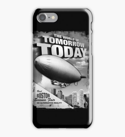 The World of Tomorrow. Today. iPhone Case/Skin