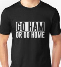 Go Ham or Go Home #1 (Dark BG) Unisex T-Shirt