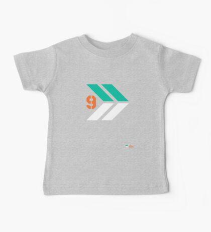 Arrows 1 - Emerald Green/Orange/White Kids Clothes