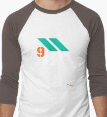 Arrows 1 - Emerald Green/Orange/White Men's Baseball ¾ T-Shirt