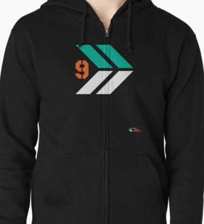 Arrows 1 - Emerald Green/Orange/White T-Shirt
