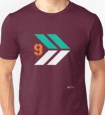 Arrows 1 - Emerald Green/Orange/White Unisex T-Shirt