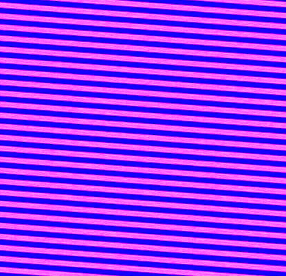 PURPLE STRIPES WITH DECORATIVE GLITCH by paulvolker