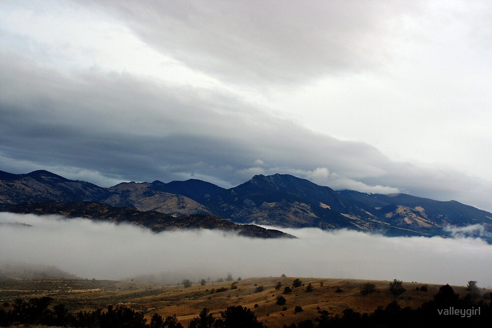 Montana Mountain Fog by valleygirl