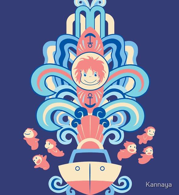 Ponyo Deco by Kannaya