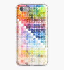 Watercolour Mixing Mega Chart iPhone Case/Skin