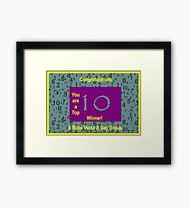Banner - ABVAD - Top Ten Winner Framed Print