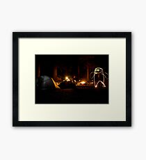 Creature of the Forest Night Framed Print