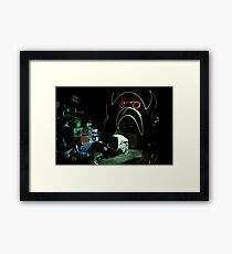 Creature of the Basement Framed Print
