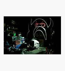 Creature of the Basement Photographic Print
