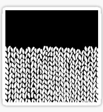 Half Knit Sticker