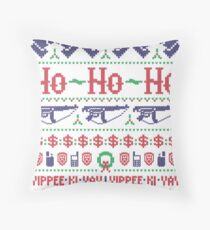 McClane Christmas Sweater Throw Pillow