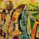Melbourne Street Art by Len  Gunther