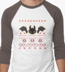 Snoggletog Knit Men's Baseball ¾ T-Shirt