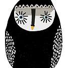 Blue Eyed Emo Owl by annieclayton