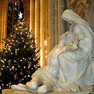Pieta and Christmas Tree by Patricia127