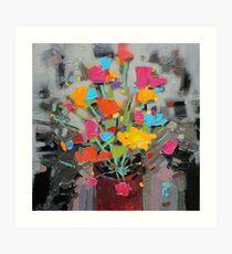 Bouquet of Colour Art Print