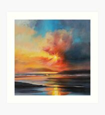 Emerging Sun Art Print