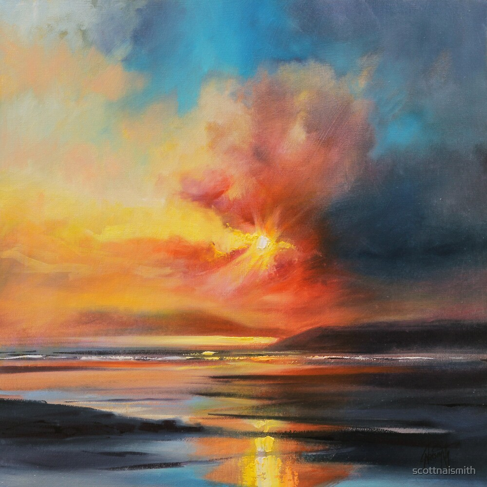 Emerging Sun by scottnaismith