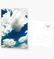 Lines and The Blue Sky [ iPad / iPod / iPhone Case ] Postcards