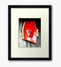 The times they are a changing  Framed Print