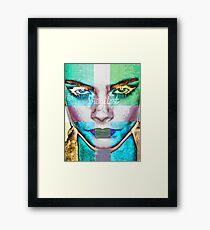 CARA Fierce Framed Print