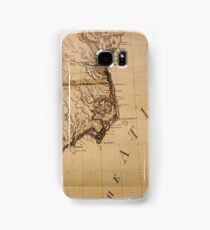 Cartography / declination Samsung Galaxy Case/Skin