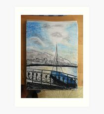 Lake Zurich Art Print