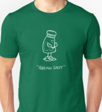Feeling Salty (white lined) T-Shirt