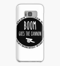 Boom Goes the Cannon Samsung Galaxy Case/Skin