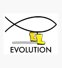 EVOLUTION  Photographic Print