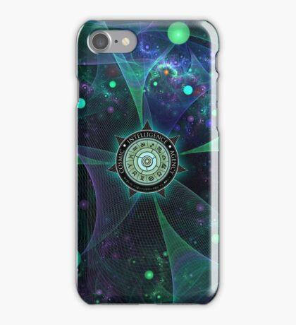 Cosmic Intelligence Agency iPhone Case/Skin