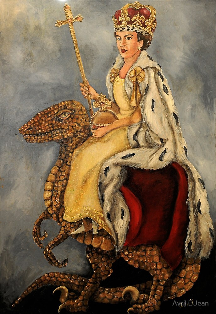 Elizabeth Rex by Avril E Jean