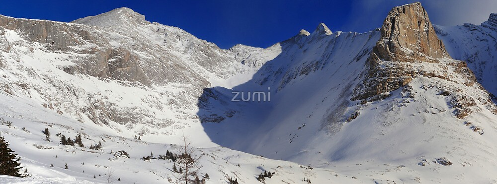Highwood valley (panorama) by zumi