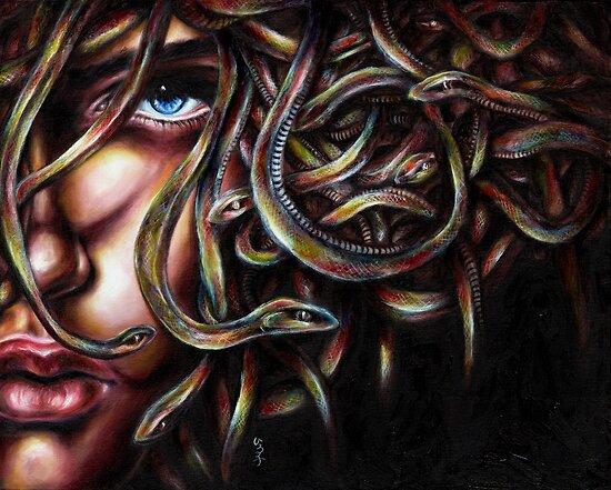 Medusa No. Two by Hiroko Sakai