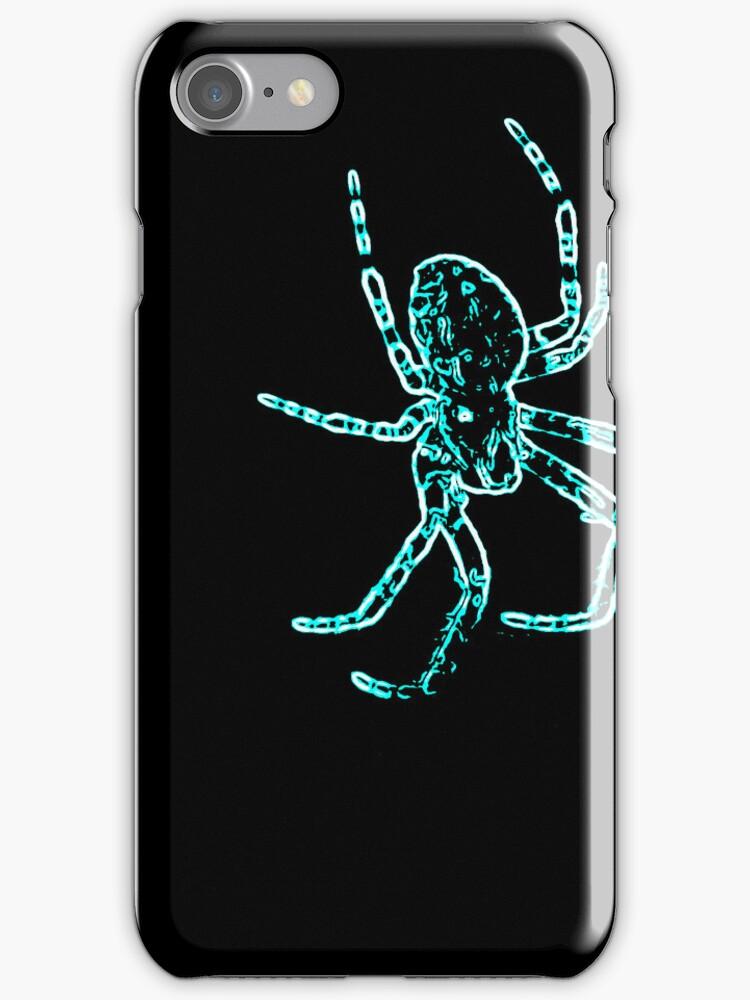 Neon Arachnophobia  by Michael  Kemp