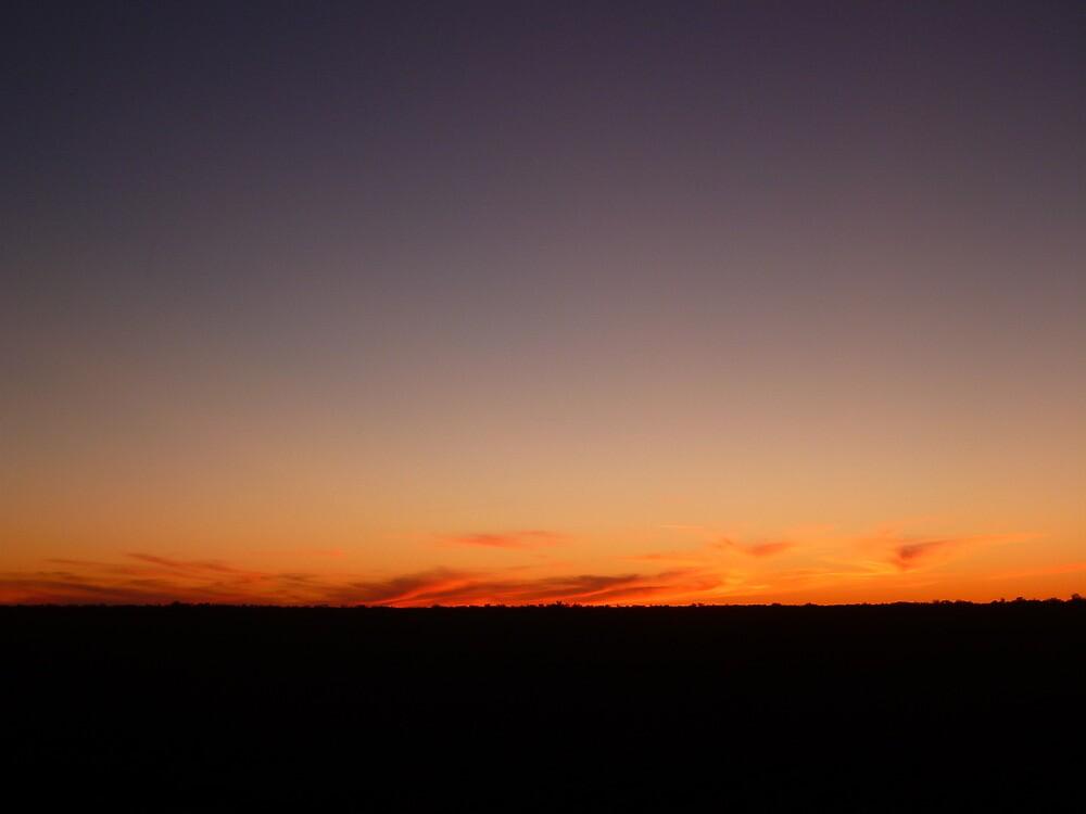 Sunset over Bananga by GorgeousPics