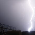 Lightning at the pump site. by GorgeousPics