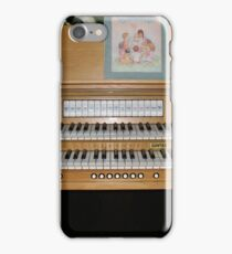 Sing With Me! Organ Console iPhone Case/Skin