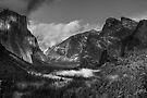 Yosemite Valley From Tunnel View by Vince Russell